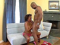 black chick with big breasts