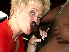 Tracy gets to take a test ride on one of Double Dee039s favorite big black dicks!