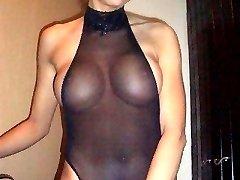 Busty girls shake tasty titties in tiny lingerie