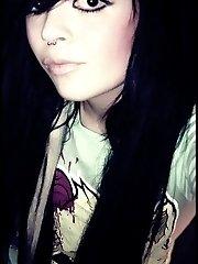 New emo girlfriend pics