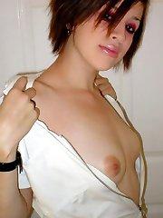 Hot sexy scene babes flaunt their fine bodies