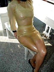Ebony doll doggied by her new date