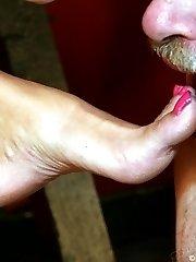 Pretty legs and feet