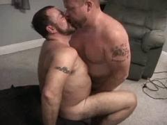 Bareback - Two Bears Fucking deeply