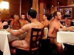 Rafael Alencar Lathered in Cum Orgy