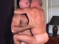 Muscle big daddies having fun