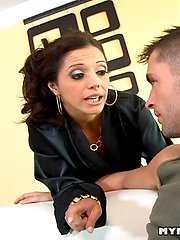 Busty MILF Slut Francesca Le Gets Fucked By Kris Slaters Massive Cock In This Photo Set