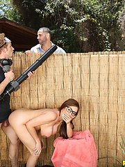 Watch milfhunter scene backyard banging featuring ariella ferrera browse free pics of ariella ferrera from the backyard banging porn video now