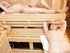 Take a peek at these lovely mature ladies at the sauna