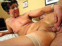 This mature slut loves that big hard cock