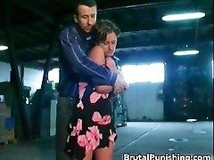 Hard core bondage and brutal punishement part6