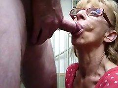 Granny Sucking BVR