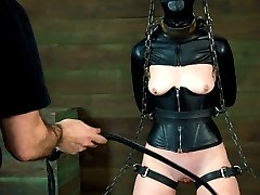 Hazel wishes for severe bondage and corporal.