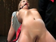 Tara Lynn Fox is 19 years old and bound for your pleasure. Her back is arched, she is gagged and...