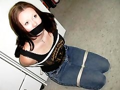 These amateur girls love being tied up and fucked