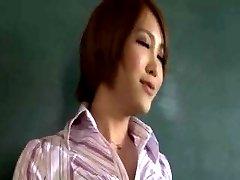 The female teacher's true character