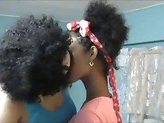 Black Power Lesbians - Kiss and Licking