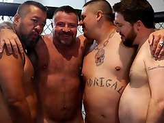 Marc Angelo's Gangbang Fantasy - BearFilms