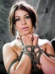 Mia Gold showed up on my door step with a love of bondage and banging body. Who am I to pass on...