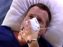 Lucky guy gets to bang a smoking hot small tits nurse