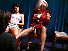 French Models suck and bang each other
