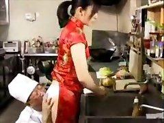 Fucking in chinese_restaurant