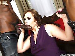 Virgo Peridot Is An Interracial Black Cock Slut at Blacks On Blondes!