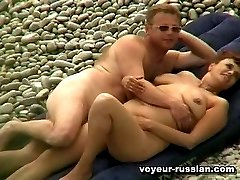 Buxom nudist lady gets herrich assets fingered by her hot disrobed lover