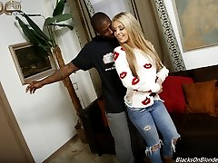 Madelyn Monroe Is An Interracial Black Cock Slut at Blacks On Blondes!