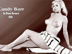 Candy Barr showing her tits