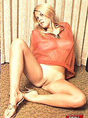 Hairy blonde sixties girls