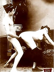 Hardcore vintage threesomes