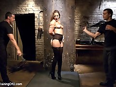 Turns out the Dani Daniels has an issue she is terrified of the cane. Fortunately for her,...