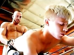 Thick and Big - Twink works out his hole