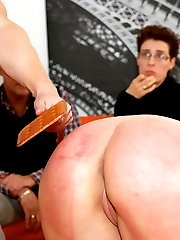 2 girls in serious spanking trouble
