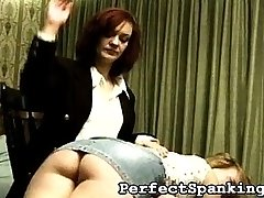 The business of inheritance can get quite sticky and dramatic. There is always someone who isn\'t happy at the outcome, like the two friends in this spanking video clip.