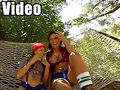 4 clips of hard fucking female lumberjacks with huge bootys!!