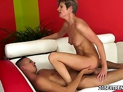 Montana fingered until her pussy gushes