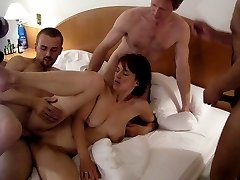 Swapping partners makes their sexual life wilder. Horny amateur swingers are having fun at...