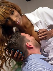 Dr. Jameson calls Nurse Natassia into his office because her wardrobe makes him uncomfortable....