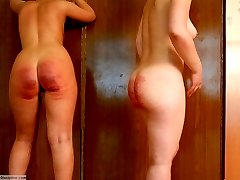 2 girls in despair - caned severely fully naked