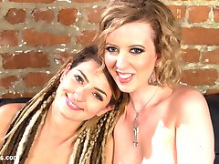 Roommate Cherry Torn, helps broke San Francisco chick, Missy Minks, keep up with the rising...