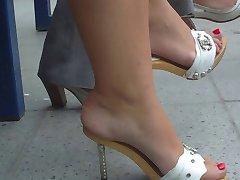 Russian Feet in Heels