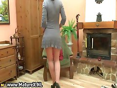 Blonde mature housewife with big part2