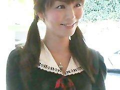 Japanese Exchange Student's Brutal Gangbang