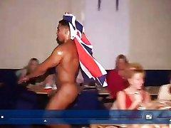 British slappers having lots of filthy fun.