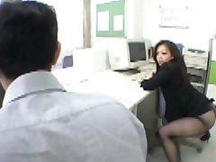 Japanese office girl drives me crazy.flv