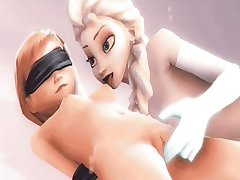 Elsa and Anna 3D sex compilation (Frozen)