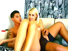 Young College Couple having Sex on Cam