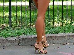 Up hot models skirts
